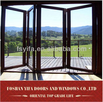5 years warranty house main gate design folding door from china