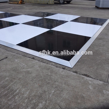 Plastic Outdoor Deck Flooring Party Floor Cover