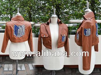 Attaque sur Titan Cosplay Shingeki No Kyojin Cosplay veste