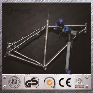 HTY titanium bmx bike frame fat bike frame