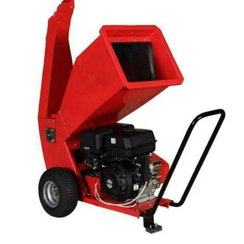 Mobile gasoline wood chipper