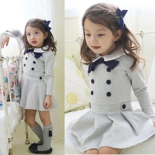 7cb8e5a80 2016 de moda Casual ropa de niño a granel comprar chicas vestido de China