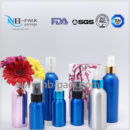 alibaba in spain travel empty perfume bottles 30ml Aluminum aluminum spray bottle from NB-PACK