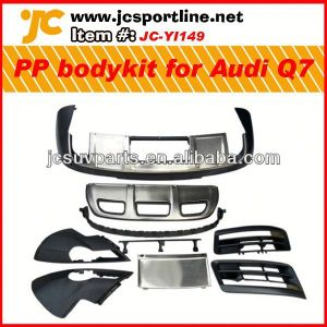 auto body repair kit PP body styling for 2011-2013 Audi Q7 PP body bumper kit