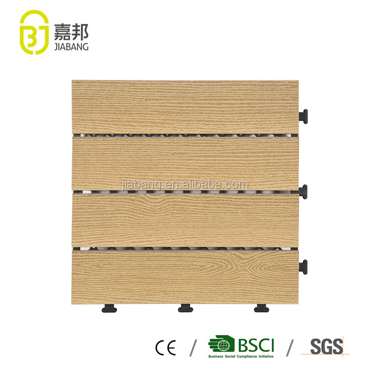 outdoor portable waterproof good one laminate flooring deck tiles covering for patio hotsale in Ghana