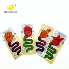 Lustiges <span class=keywords><strong>Finger</strong></span> Vermute Fruit Gelee-süßigkeit Gummy
