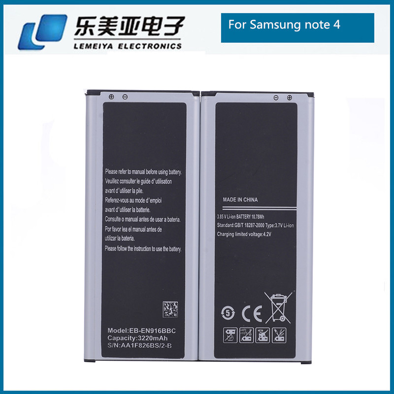 Original Quality Battery for Samsung Note 4 Mobile Battery