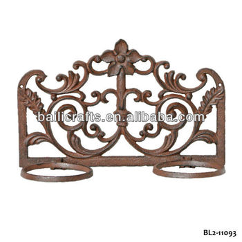 Cast Iron Wall Planter Holder Decorative Flower Mounted Pot Product On Alibaba