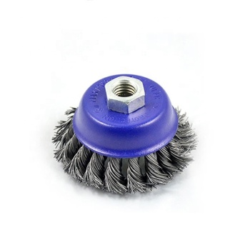 High Performance MPA Approval wheel dish cup stainless steel wire brush