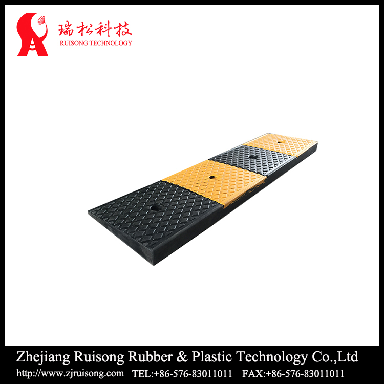 High strength rubber kerb ramp road ramps