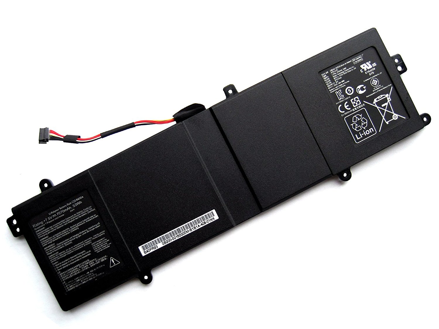 ZWXJ Laptop Battery C22-B400A (7.5V 53wh 7070MAH) For ASUS PRO ADVANCED BU400 BU400V BU400A BU401LG C22-B400A B400A Ultrabook Series