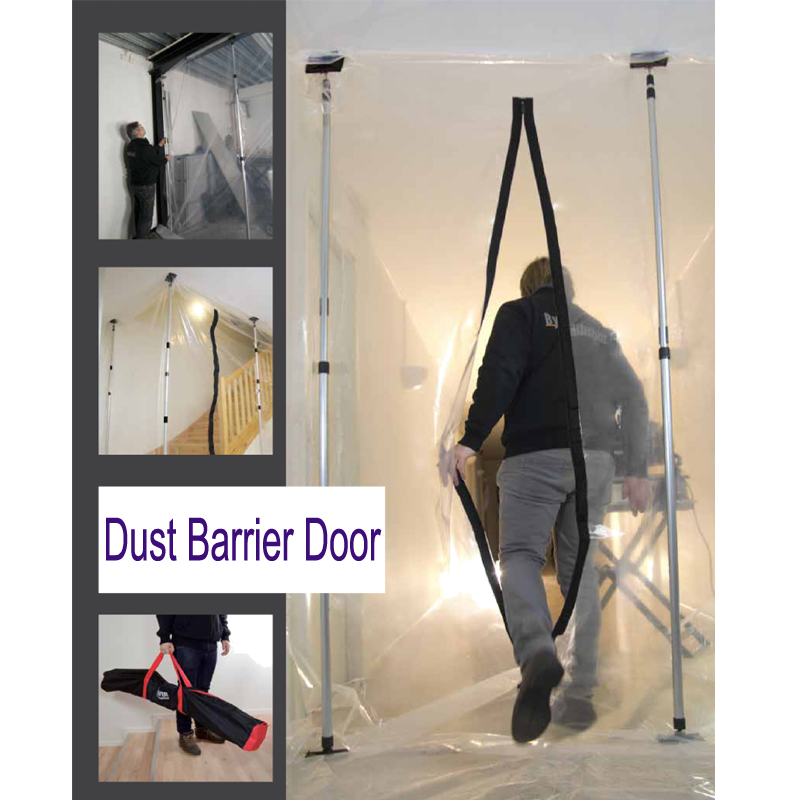 Dust Barrier System 4pcs extension poles/Zip Construction Dust Protection Zipper Door Wall  sc 1 st  Firstgroup Industry Limited (Nantong) - Alibaba & Dust Barrier System 4pcs extension poles/Zip Construction Dust ...