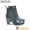 218-MK3 Genuine leather shoes women manufacturer shoes ladies ankle boots OEM/ODM shoes