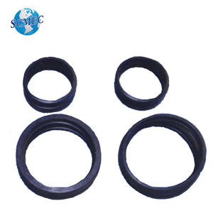 Rubber gaskets for concrete pipe clamp coupling