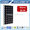 monocrystalline solar panel 90w for led lamp best price mono 90 watt monocrystalline solar panel 90w for home use