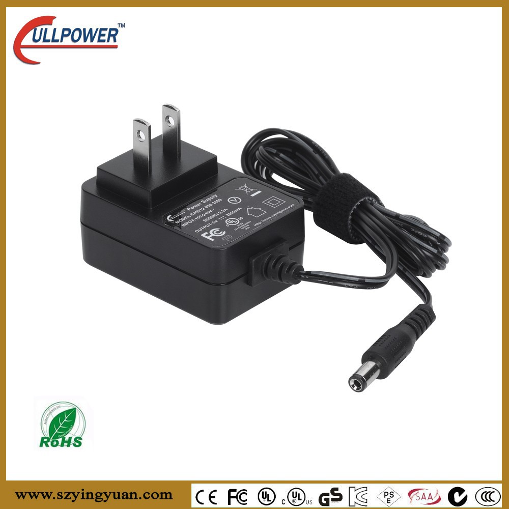 UL FCC CE GS SAA approved 24v 350mA Antenna DC power supply