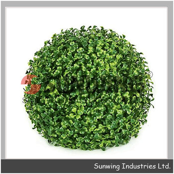 Artificial Plants Buxus Ball Artificial Plastic Garden Hedges
