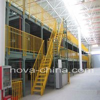 Steel Heavy Duty Mezzanine Floor rack system