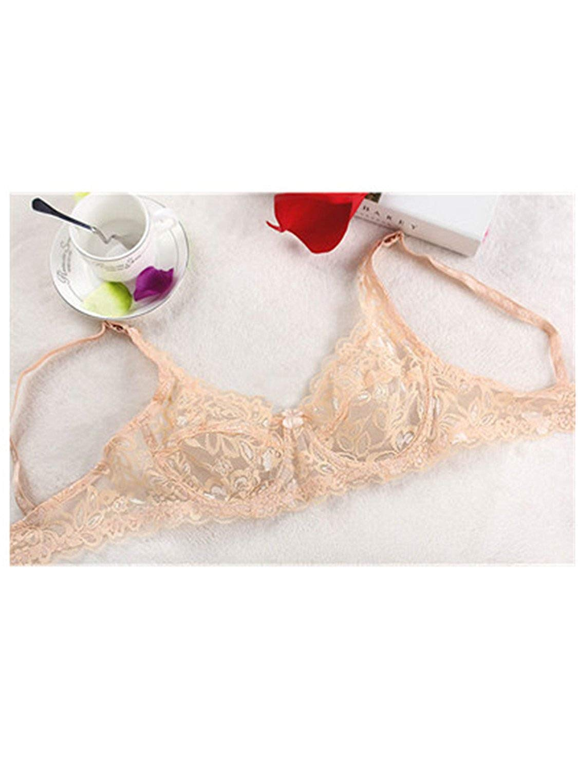 457bb9cdfcb Get Quotations · Nicholas Wit Women s Lace Underwire Push up Bra Sexy Underwear  Bras for Women Bralette Lingerie Intimates