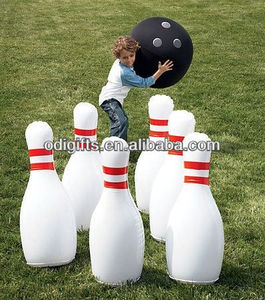 Inflatable Bowling outdoor yard games lawn toy