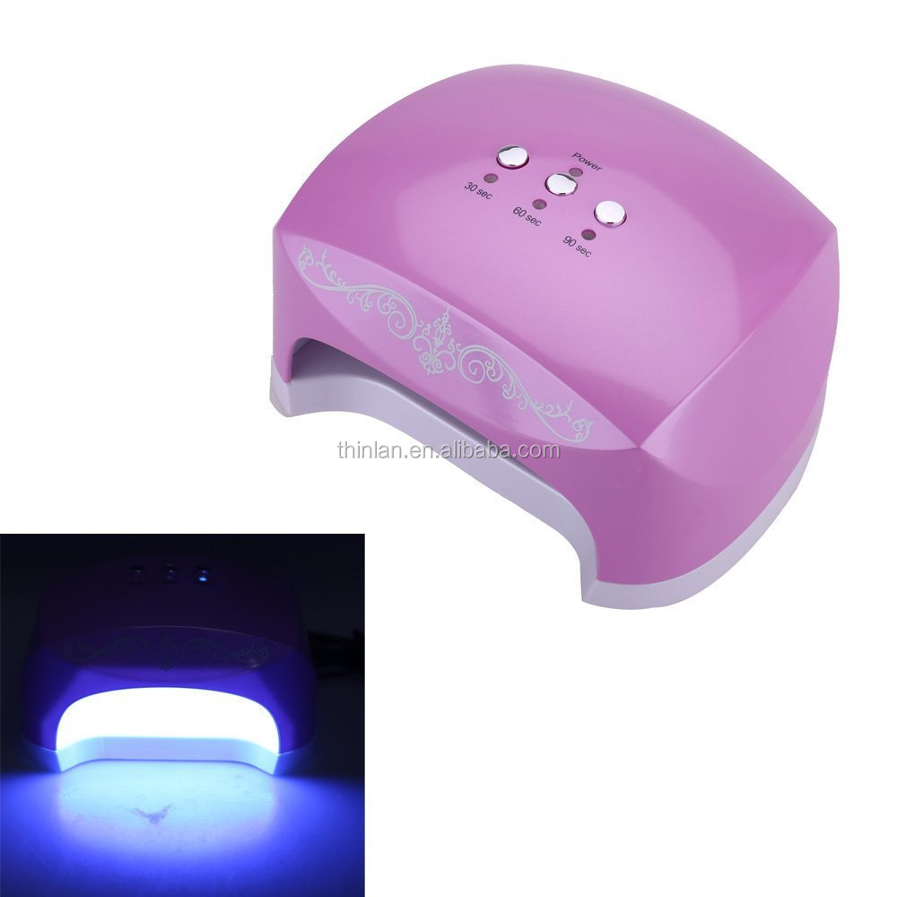 24w Ccfl Spirale Uv-lampe Led Manicure Led Uv Nail Lamp For Uv Gel ...