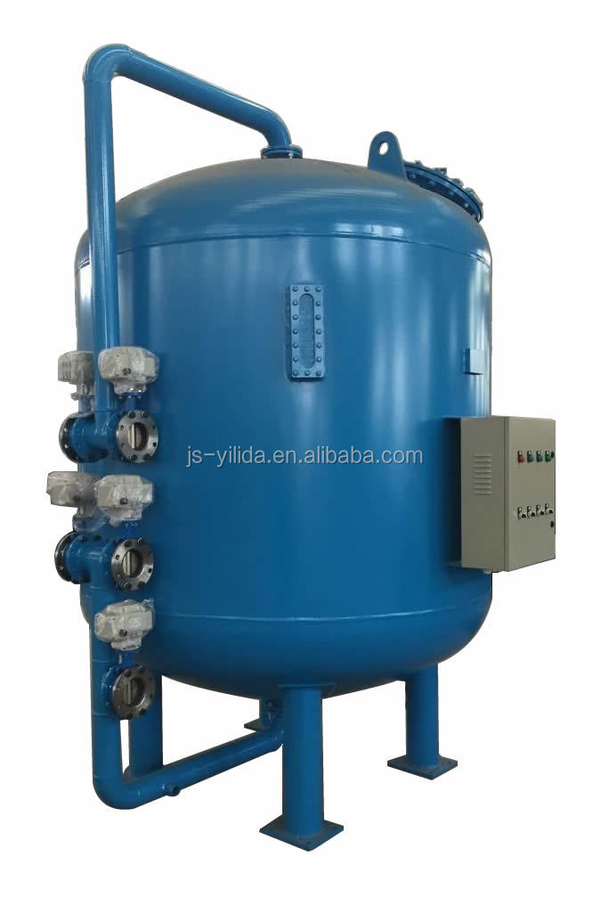 Drinking water treatment plant continuous automatic