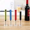 Aluminum Alloy Body and Steel Needle Air Pressure Wine Bottle Opener