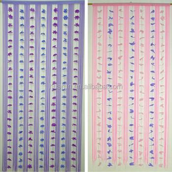 Blume Linie Turvorhang Fenster Zeichenfolge Vorhang Raumteiler Buy