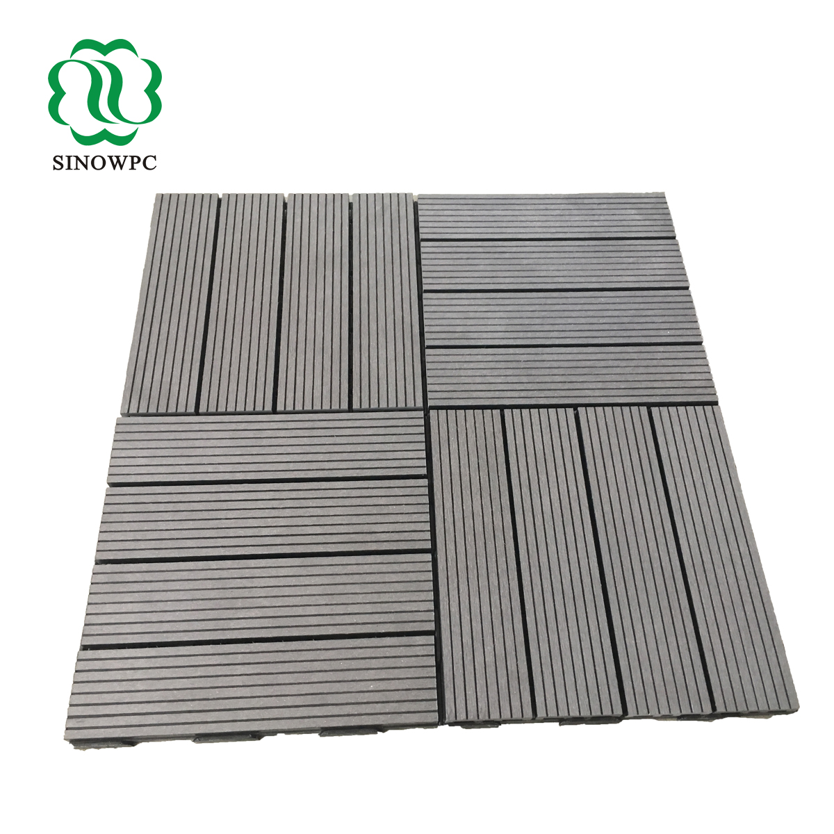 Wood Composite Decking Tiles