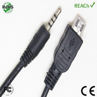 Manufacturer cable micro usb to 2.5mm adapter
