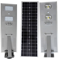 All In One Integrated Solar Led Street Yard Light Lamp/5w-80w ...