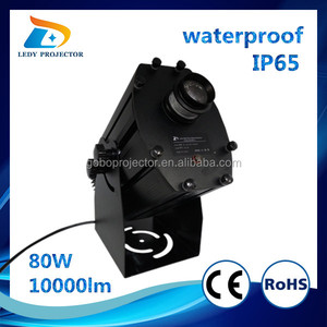 Chinese popular 10000 lumens outdoor Advertising gobo projector for sale