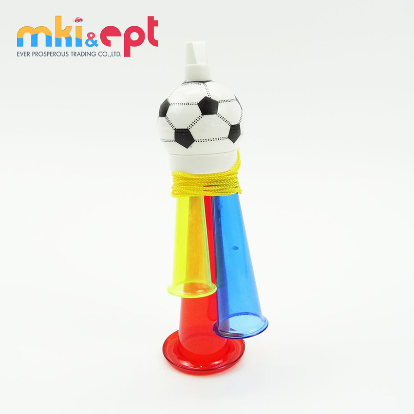 Promotional cheap trumpet bugle toy world cup soccer game
