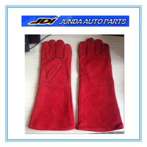 16 inch cow split welding gloves manufacturers leather glove