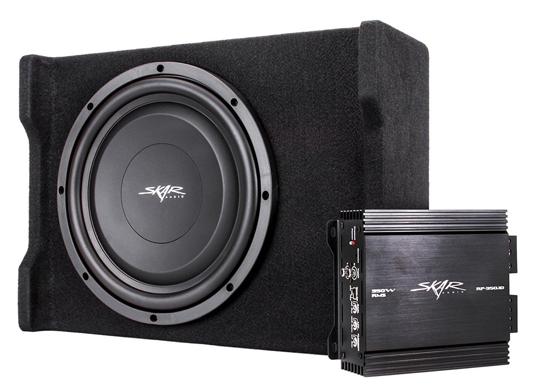 Superb Buy Skar Audio Single 12 400 Watt Loaded Shallow Subwoofer Wiring Database Wedabyuccorg
