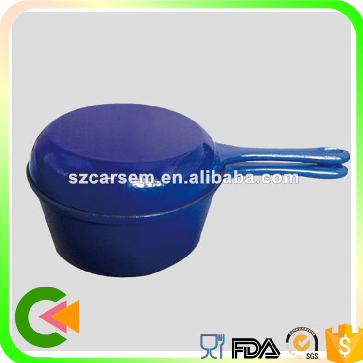 Kitchen utensils Cast iron enamel pots and pans