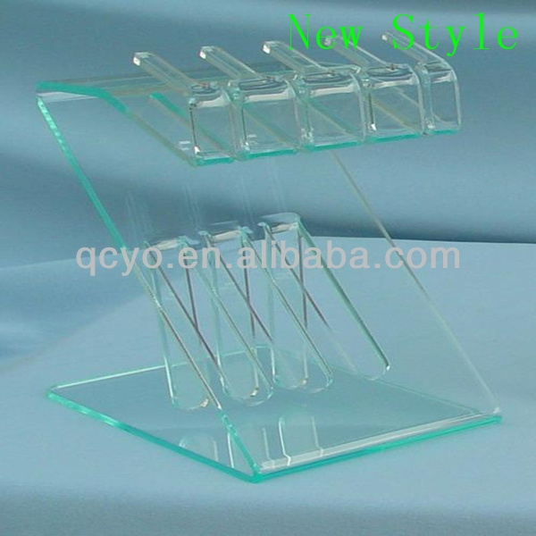 New style acrylic high quality hunting knife display stands