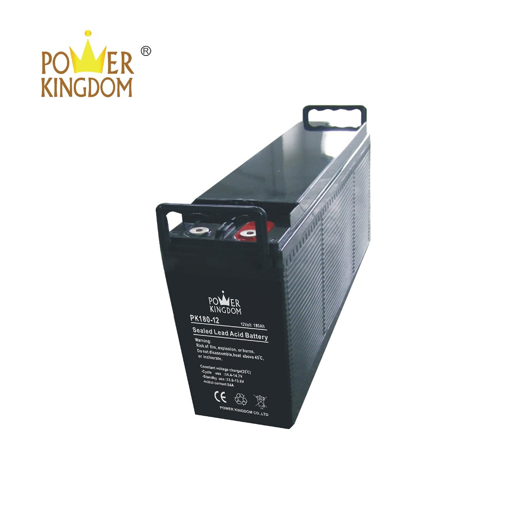 Power Kingdom advanced plate casters h7 agm battery factory price solar and wind power system-2