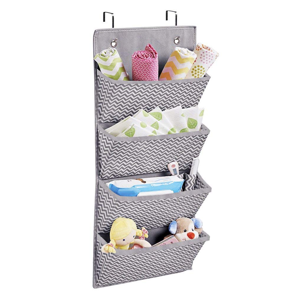 Hanging Wall Files Organizer Over The Door File Folders Planners Notebooks Books Storage