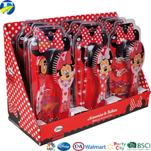 FJ brand wholesale kids baby girls comb gift set necklace hair rings mickey minnie gift set