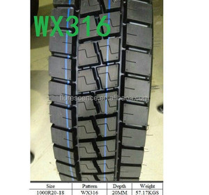 Indian Market BIS truck tires 1000R20