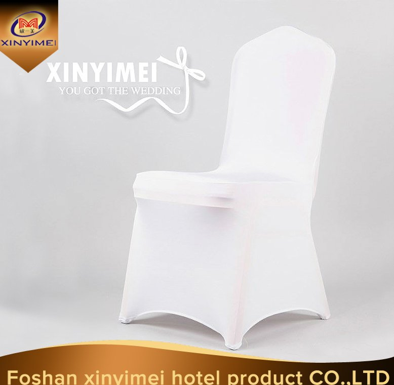 cheap modern wedding chair covers/banquet folding spandex chair cover