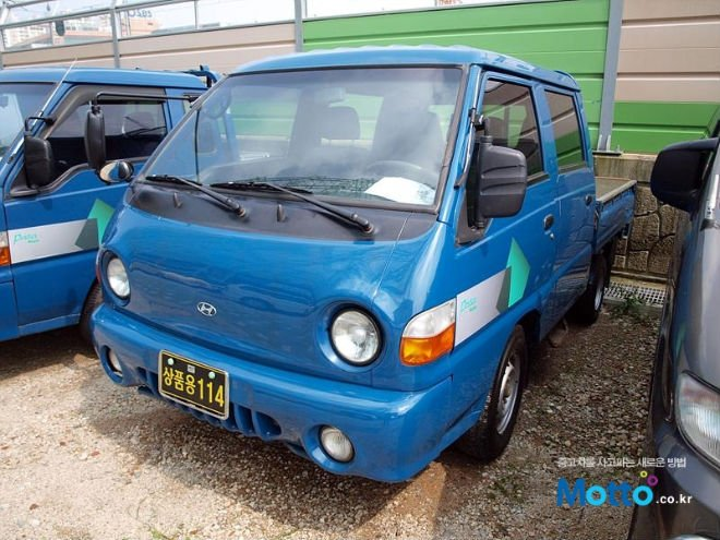 Used Car 2002 Hyundai Porter Double Cap 1ton - Buy 2002 Hyundai ...
