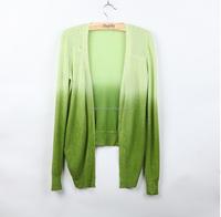 Walson Cardigan Women Lace Sweet Candy Color Crochet Knit Blouse Long-sleeve Tops Women Sweater Cardigans