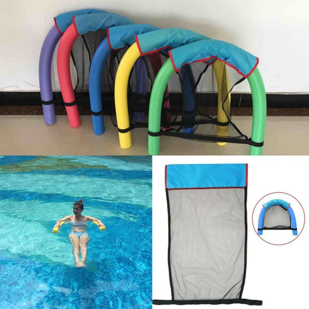 New Floating Chair Swimming Ring Sling Mesh Swimming Chair Seats Net For Pool Party Kids Bed Seat Water Sport Terrific Value Sports & Entertainment