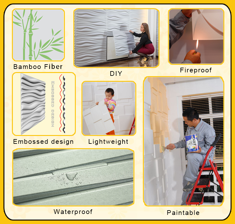 wallpaper self-adhesive stone for indoor