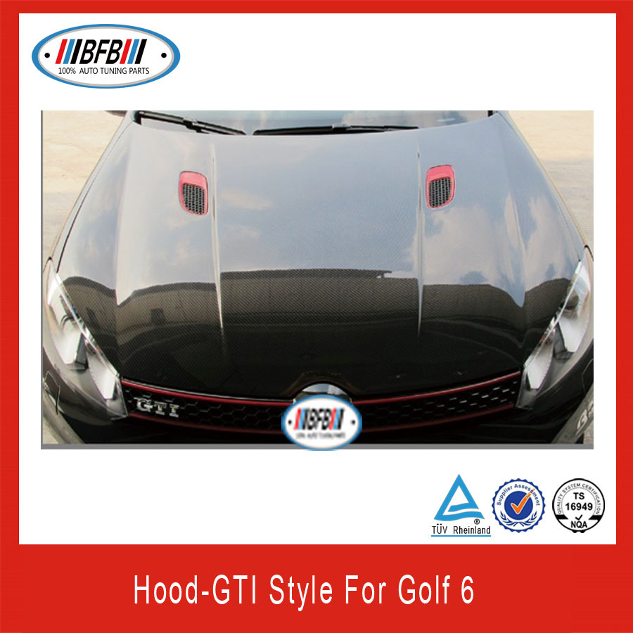 carbon fiber spoiler for vw golf 6 carbon parts buy. Black Bedroom Furniture Sets. Home Design Ideas