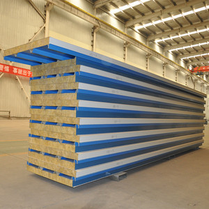 low price insulated corrugated sandwich panel