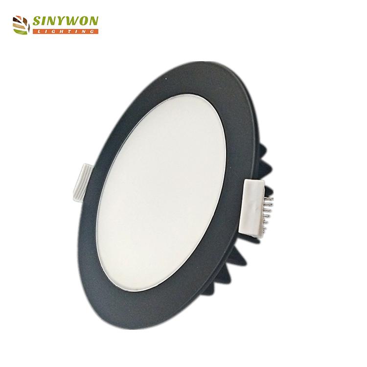 Recessed 12w LED Down Light Approved by SAA, IC-4 for Australian and New Zealand Market