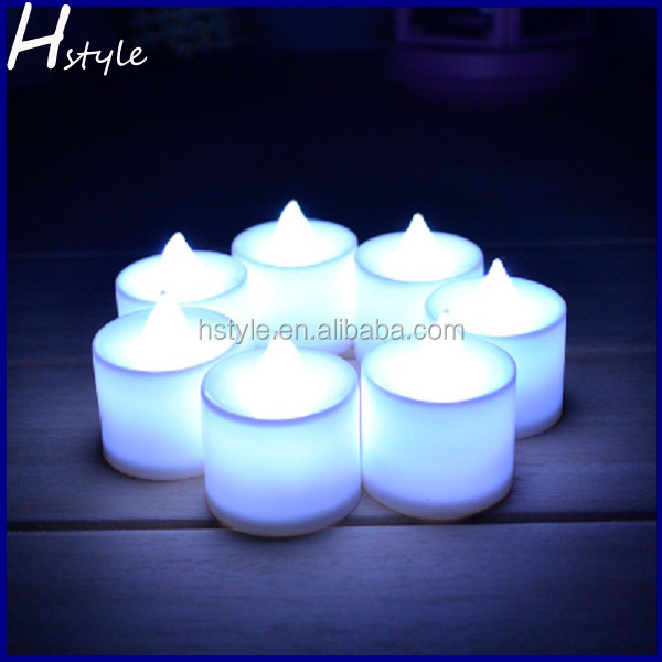 White LED Candles, Safe Flameless Tea Lights for Parties Weddings SNL007